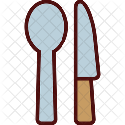 Spoon and Knife Icon