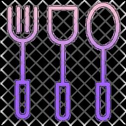 Spoons Gradient Icon