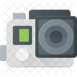 Sport camera Flat Icon