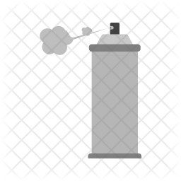 Spray Flat Icon
