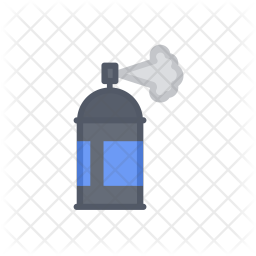Spray Colored Outline Icon