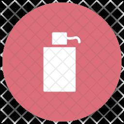 Spray Glyph Icon