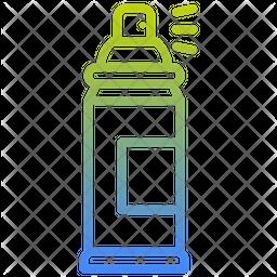 Spray Color Gradient Icon