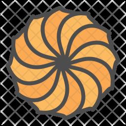 Spritz cookie Icon