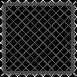 Square Line Icon