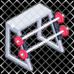 Squat Rack Icon