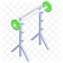 Squat Stand Icon