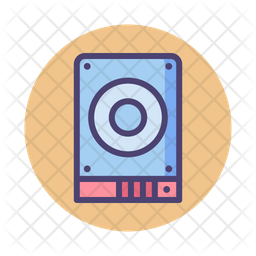 Ssd Disk Drive Icon