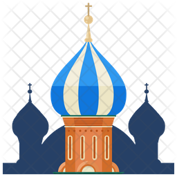 St Basil Cathedral Icon