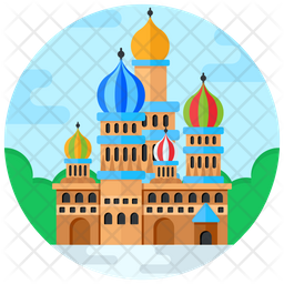 St Basil's Cathedral Icon
