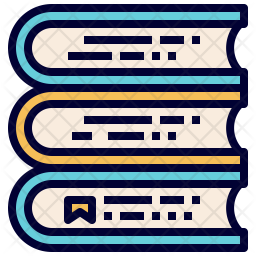 Stacked book Icon