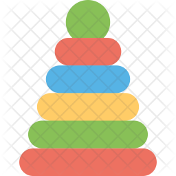 Stacking Toy Icon