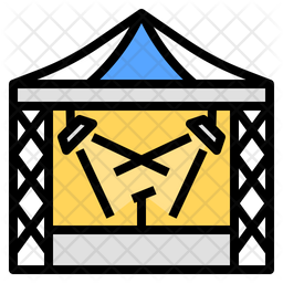 Stage Colored Outline Icon