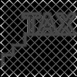 Staircase Tax Icon