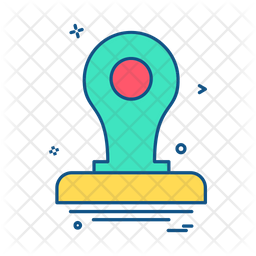 Stamp Icon Of Colored Outline Style Available In Svg Png Eps Ai Icon Fonts