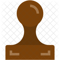 Stamp Flat Icon