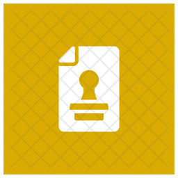 Stamp File Icon