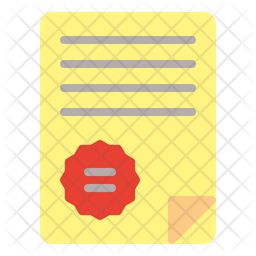 Stamp Paper Icon
