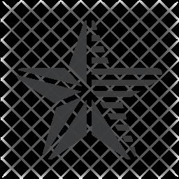 Star Glyph Icon