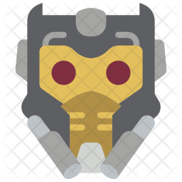 4b816ac19d3 Star Lord Icon of Flat style - Available in SVG