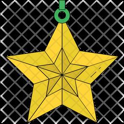 Star Ornament Icon