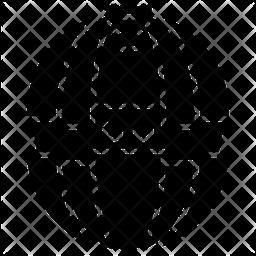 Star wars Glyph Icon