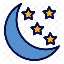 Starry Night Icon
