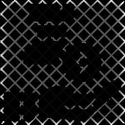 Startegy Glyph Icon