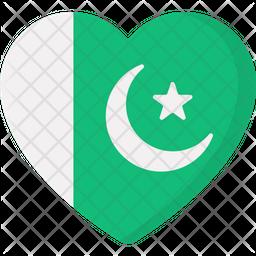 State Emblem Flat Icon