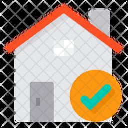 State Quarantine Flat Icon