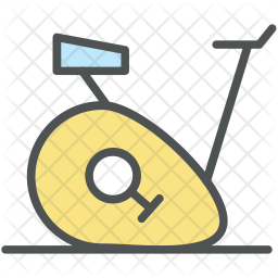Stationary Colored Outline Icon