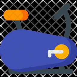 Stationary, Bike Icon