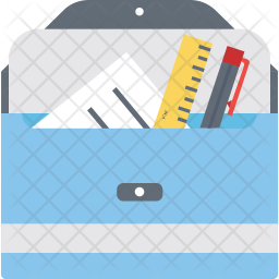 Stationery Case Icon
