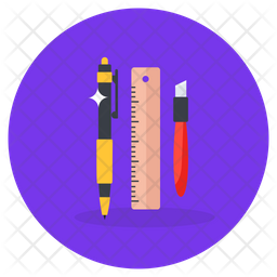 Stationery Items Icon