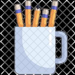 Stationery Jar Icon
