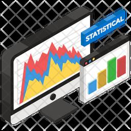 Statistical Analysis Flat Icon