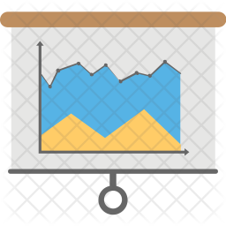 Statistical Presentation Icon