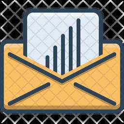 Statistics Email Icon