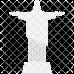 Statue of Jesus Icon