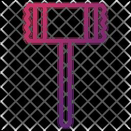Steak Hammer Icon