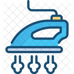 Steam Iron Icon Of Colored Outline Style Available In Svg Png Eps Ai Icon Fonts