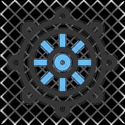 Steer Wheel Icon