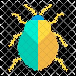 Stinkbug Flat Icon