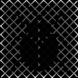 Stinkbug Glyph Icon