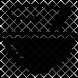 Stir Glyph Icon