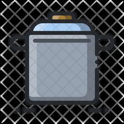 Stock Pot Icon