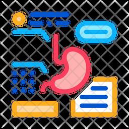 Stomach Analysis Icon