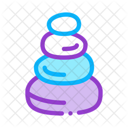 Stones Icon Of Colored Outline Style Available In Svg Png Eps Ai Icon Fonts
