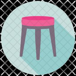 Stool Table Icon