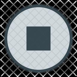 Stop Button Icon